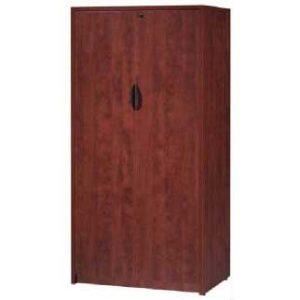 Cherry Double Door Storage Cabinet