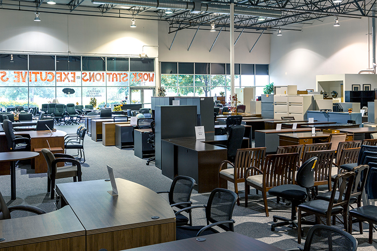 Office Furniture Showroom St. Charles