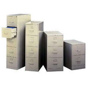 PreOwned Vertical Filing Cabinets
