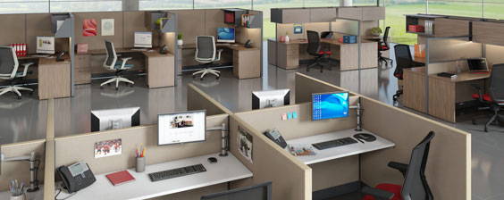 cubicle space planning