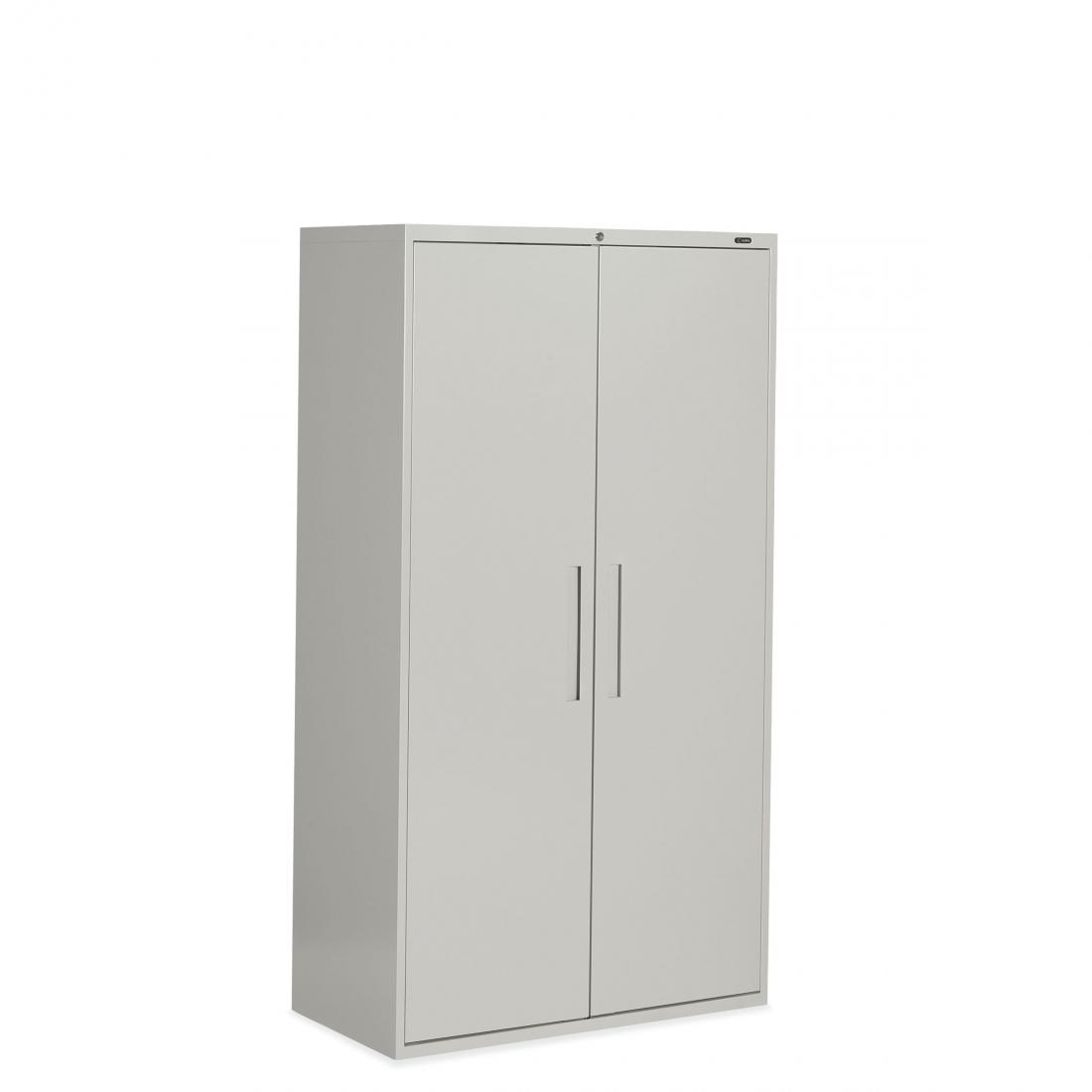 65h X 36w 2 Door Storage Cabinet Four Adjustable Shelves 385