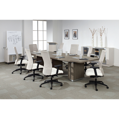 12 Foot Global Zira Boat Shape Conference Table Better