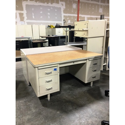 used 30x60 steelcase metal desks better office furniture