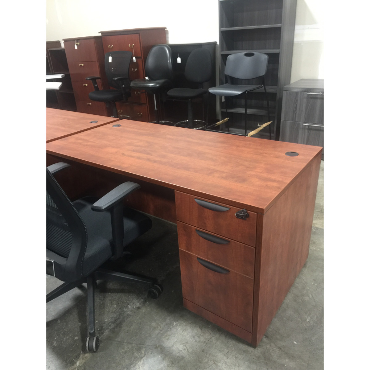 Cherry Laminate Desk 415 Better Office Furniture